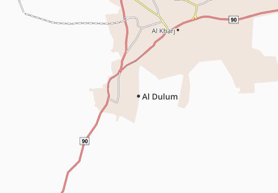 Carte-Plan Al Dulum