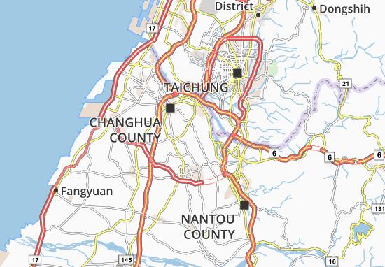 Mapa Bagu