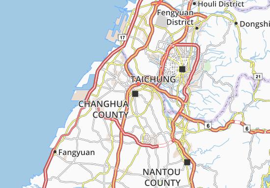 Mapa Plano Fangyuan
