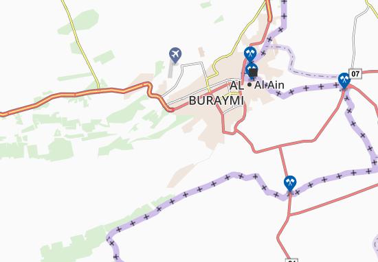 Mapa Plano Al Hilaiw