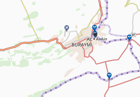 Carte-Plan Al Maqam Palace