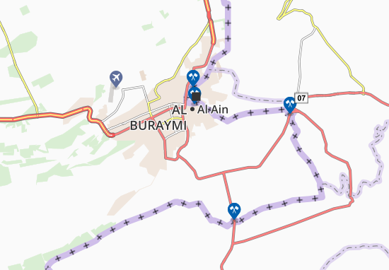 Mapa Plano Al Aras