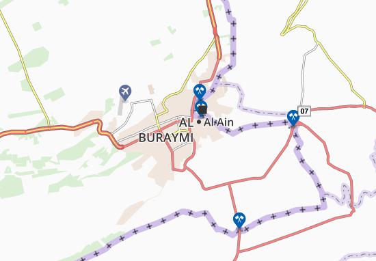 Mapa Plano Al Ghail