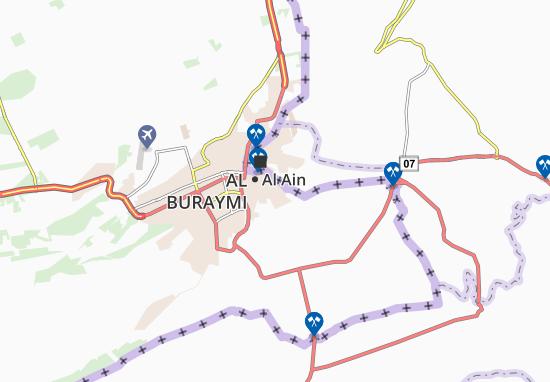 Karte Stadtplan Al Hanayah