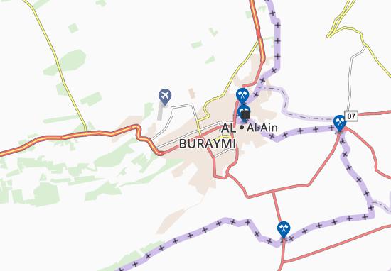 Mapa Plano Al Dfeinah