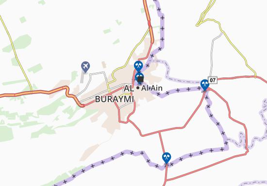 Carte-Plan Al Marayegh