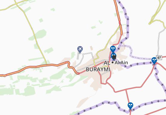 Mapa Plano Al Dahmaa