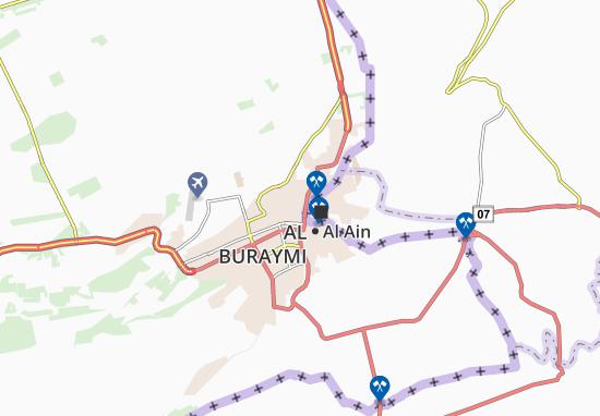Carte-Plan Al Khrais
