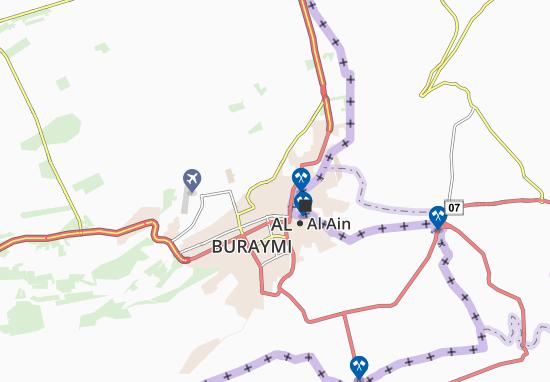 Carte-Plan Al Mraijeb