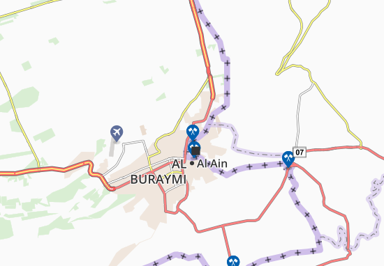 Carte-Plan Al Graifah