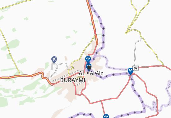 Carte-Plan Al Mergab