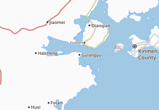 Mapas-Planos Gulangyu