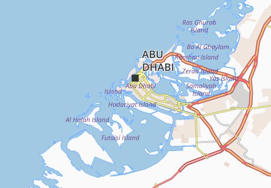 Mapa Plano Al Bateen 96