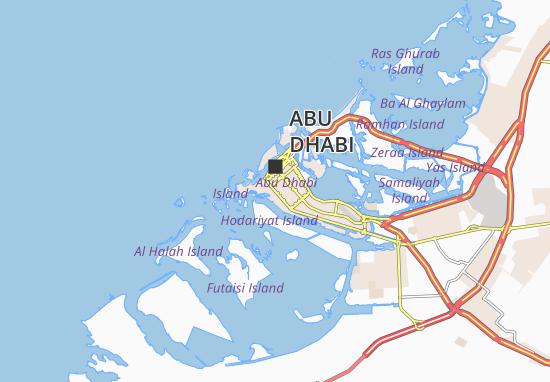 Mapa Plano Al Bateen 75