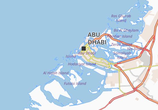 Mapa Plano Al Bateen 94
