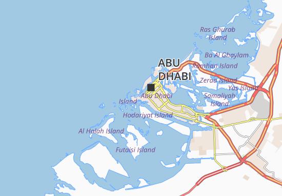 Carte-Plan Al Khubeirah 93