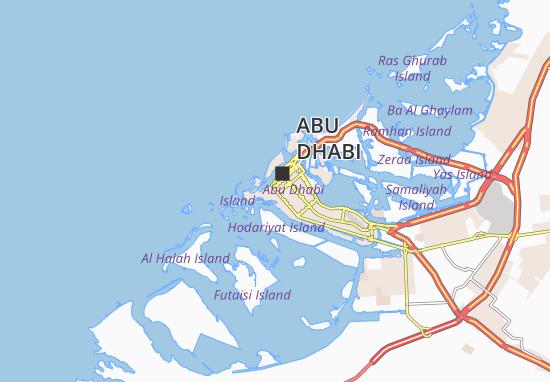 Al Bateen 74 Map