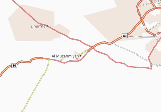 Mappe-Piantine Al Muzahmiyah