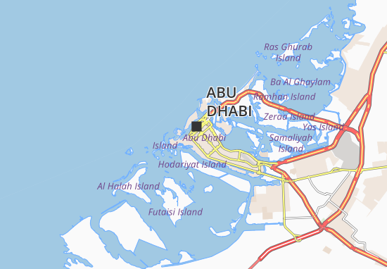 Carte-Plan Al Manhal 54