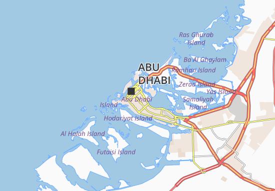 Mapa Plano Al Dhafrah 35