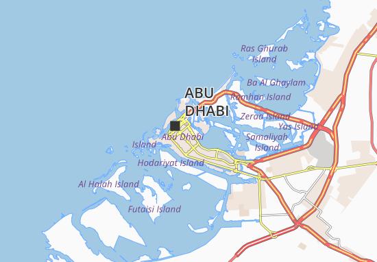 Al Dhafrah 55 Map