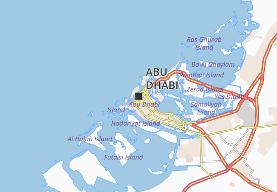 abu dhabi map