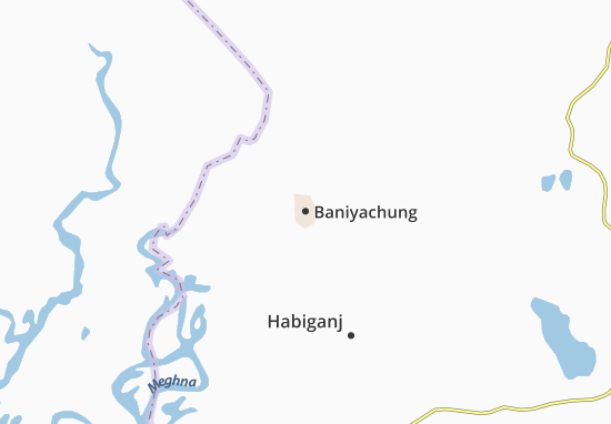 Baniyachung Map