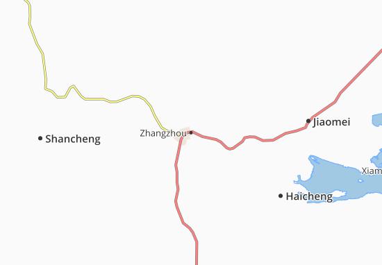 Map Of Zhangzhou Michelin Zhangzhou Map ViaMichelin - Haicheng map