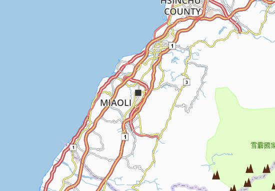 Mappe-Piantine Miaoli