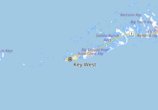 Stock Island Map