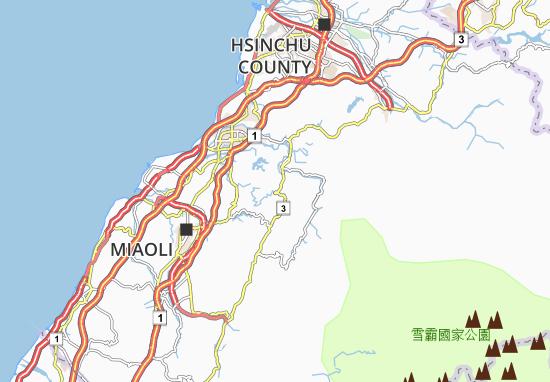 Baguguanyin Map