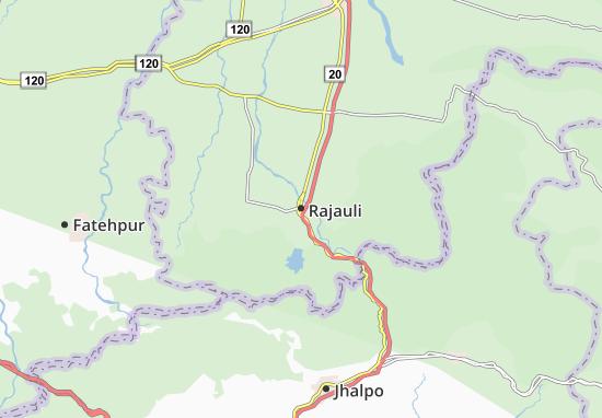 Rajauli Map