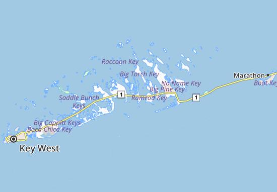 Summerland Key Map