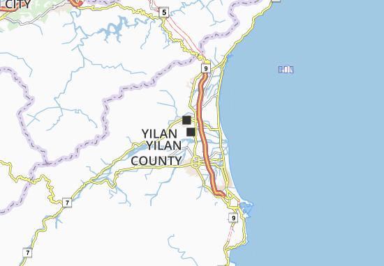 Mappe-Piantine Yilan