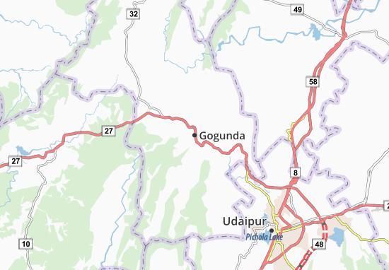 Carte-Plan Gogunda