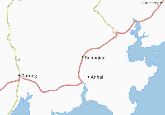 Guanqiao Map