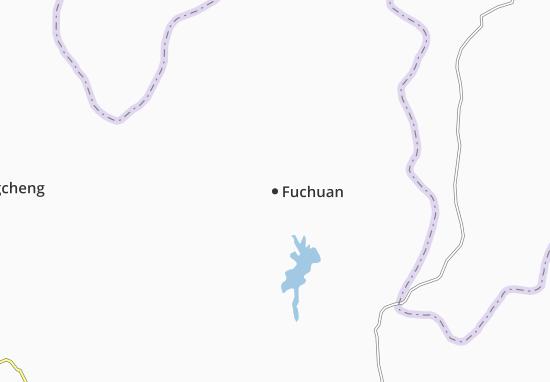 Kaart Plattegrond Fuchuan