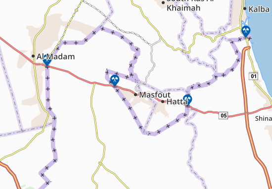 Masfout Map