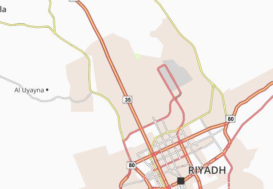 Carte-Plan Al Aarid