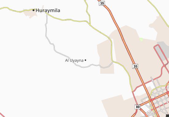Mappe-Piantine Al Uyayna