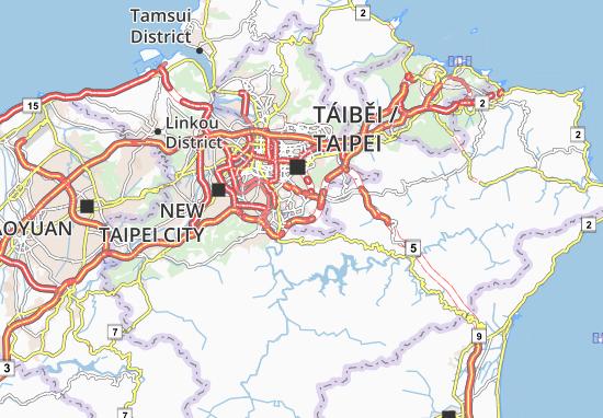 Carte-Plan Wunshan District