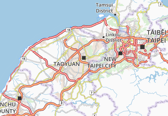 find any address on the map of taoyuan or calculate your itinerary to and from taoyuan find all the tourist attractions and michelin guide