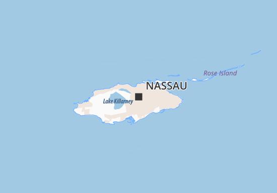 Kaart Plattegrond Nassau