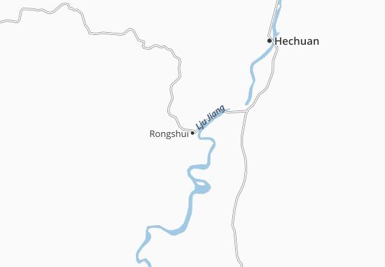 Mappe-Piantine Rongshui