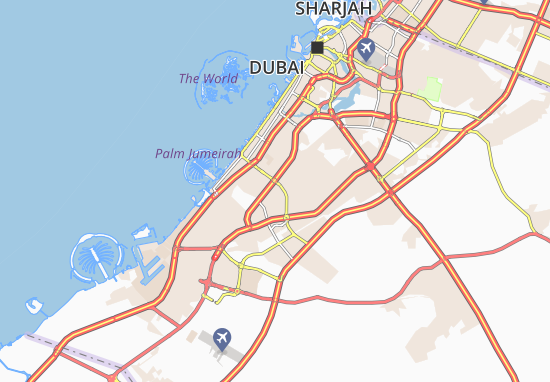 Al Barsha South First Map