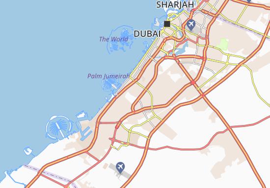 Mapa Plano Al Barshaa Third
