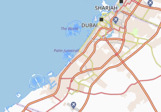 Mapa Plano Al Barsha First