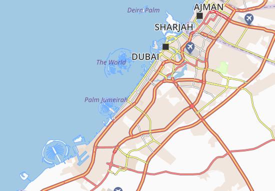 Carte-Plan Al Manara