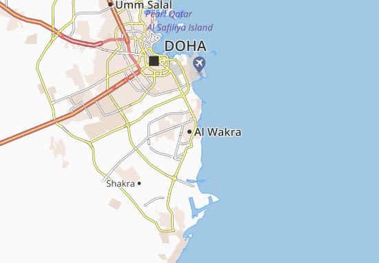 Mapas-Planos Al Wakra