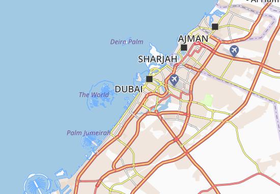 Mapa Plano Al Bada'a